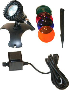 CQD-120-LED -1 LED Underwater Light Kit