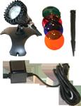 CQD-120-1 Halogen Underwater Light Kit