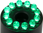 HLTR-12-G Green Light Ring for HLT-12 lights