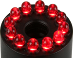 HLTR-12-R Red Light Ring for HLT-12 lights